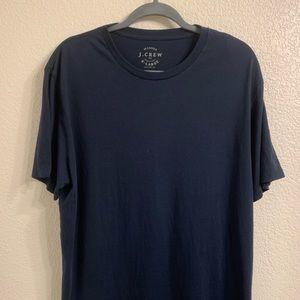 🆕 J Crew Factory Broken In T-Shirt Navy